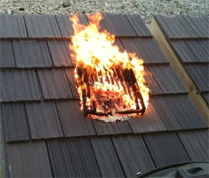 DaVinci Roofscapes Fire Resistance