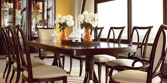 Perfect The Collection Features Soft Lines With An Open Back Chair And A Table With  Rounded Corners.