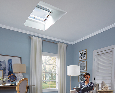 Skylights For Every Roof Pitch Ceiling