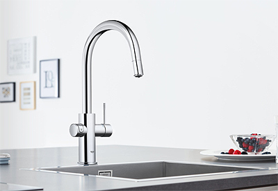 GROHE Blue Chilled and Sparkling 2.0 Faucet