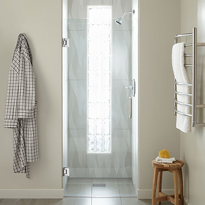 Signature Hardware Farland Frameless Shower Door