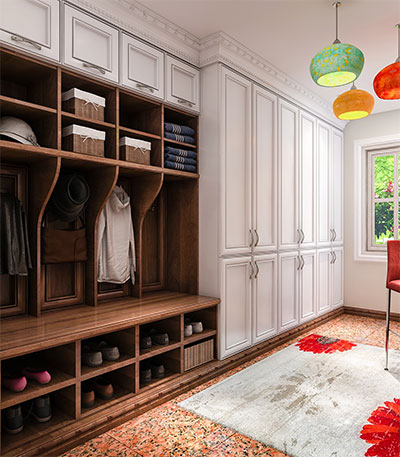 Closet Factory Mudroom