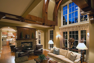 Choosing the right fireplace to match your lifestyle - Fireplace between two rooms ...