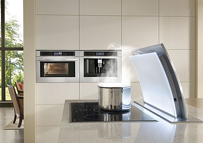 JennAir Appliances Including Built-in Coffee System