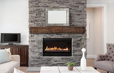 Fypon Hand Hewn Beam Mantel