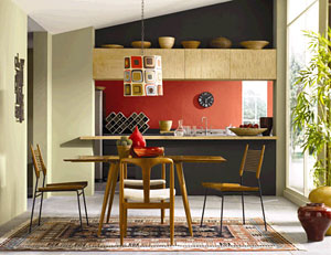 Color play how to use paint to make small spaces big the house designers - Painting small spaces image ...