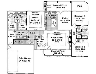 THD-6336 Floor Plan