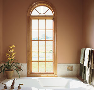 Integrity by Marvin Windows and Doors IMPACT Round Top WIndows