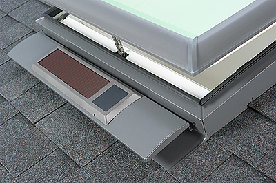 "VELUX Solar Powered ""Fresh Air"" Skylight"