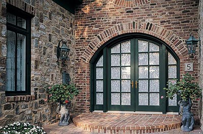 Marvin Ultimate Swinging Arch Top French Door