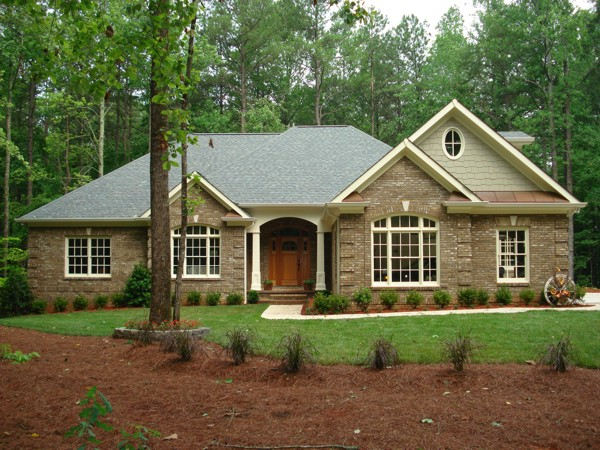 Adobe Style House Plans-Perry Home Plans