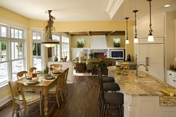 Anna's Garden house plan kitchen