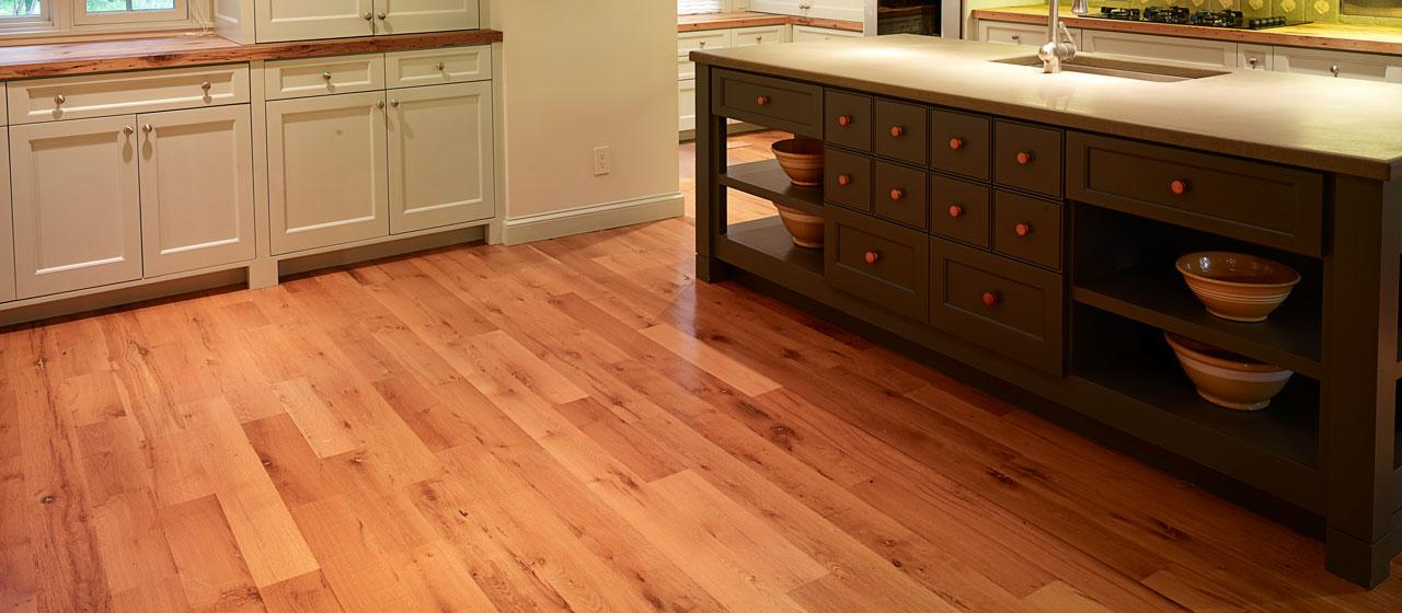 Elmwood Reclaimed Timber Wide Plank Wood Flooring