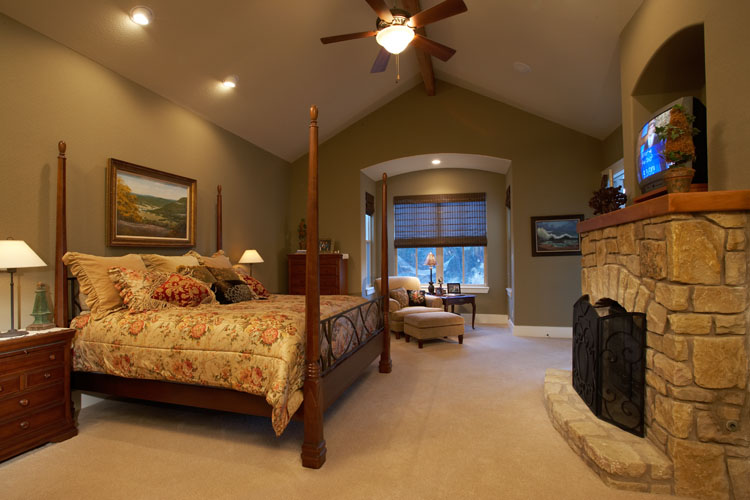 Siena House Plan Master Suite