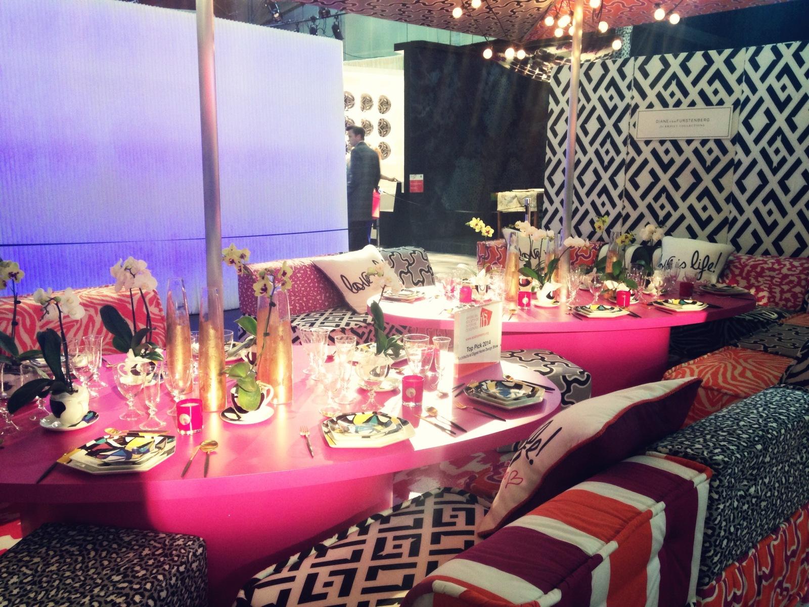 Diane Von Furstenberg Dining Room