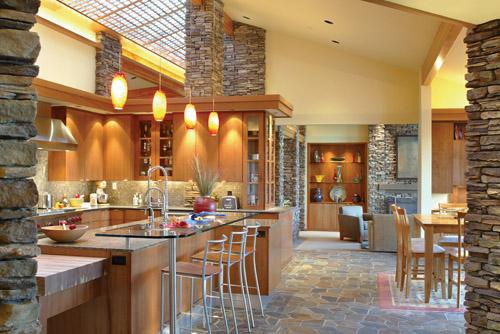 Harrisburg House Plan kitchen