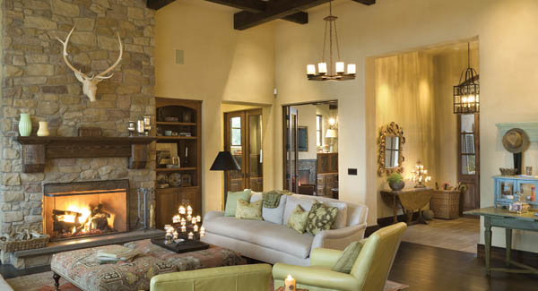 Terrebonne House Plan Great Room