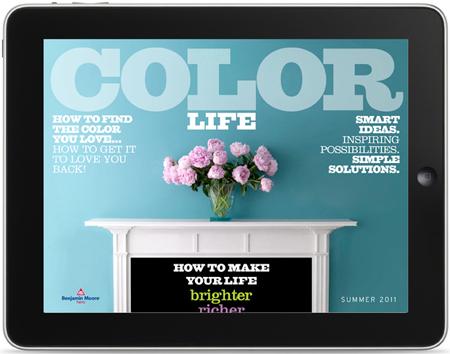 Benjamin Moore Color Life E-Zine