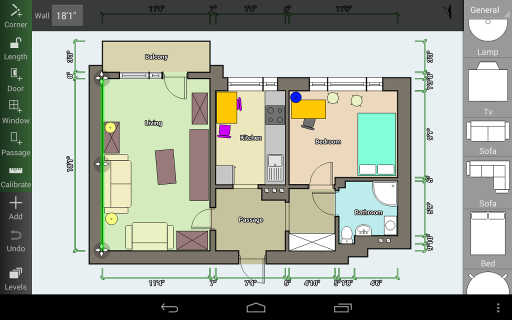 5 awesome apps to help you plan your homes interior the for Floor plan creator unlocked