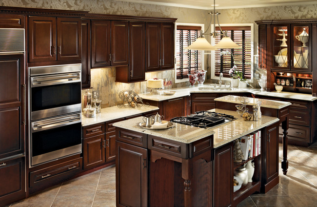 KraftMaid Classically Traditional Kitchen