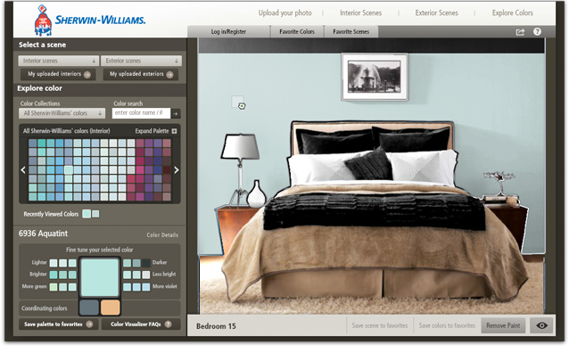 Sherwin-Williams® Color Visualizer