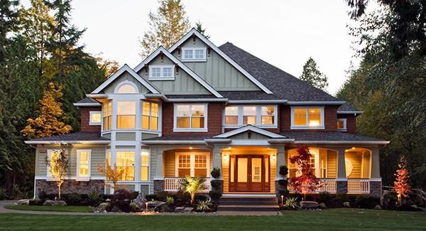 8 ways to add curb appeal to your home the house designers for Stone acre