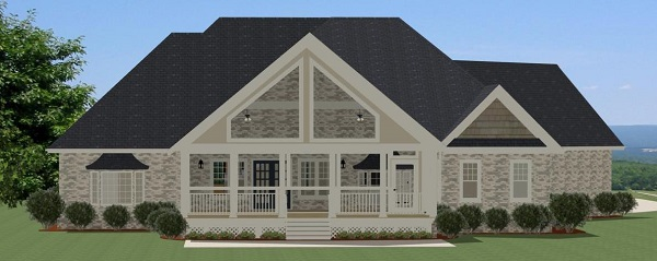 Stoney Creek Rear Elevation