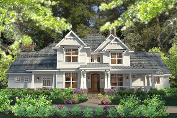 Top 6 best selling house plans and why they have curb for Traditional farmhouse house plans