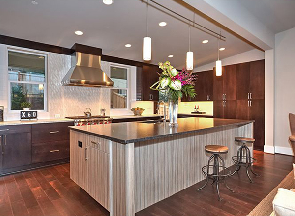 5 current trends in kitchen design the house designers for Latest trends in kitchen design
