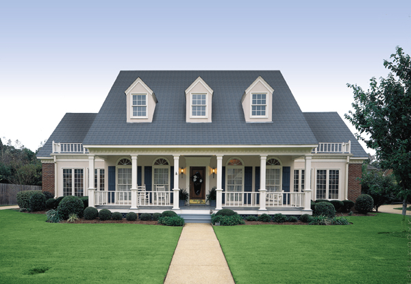 The Banner Hall 3000 is one of our most popular Cape Cod house plans.