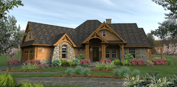 Beautiful and elegant, the L'Atessa di Vita house plan has lots of curb appeal and can fit into a variety of neighborhoods.