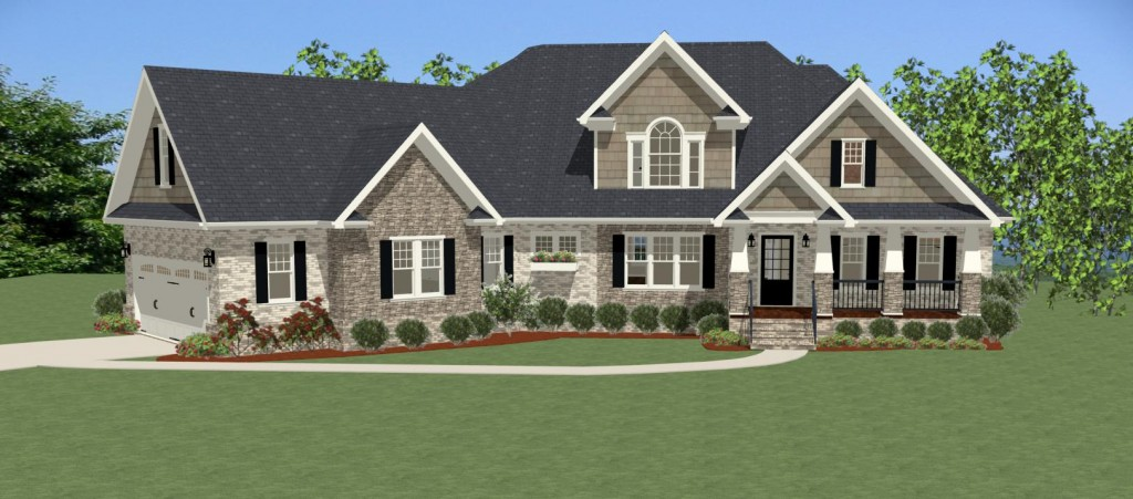 The Stoney Creek house plan is an inviting Craftsman inspired home with plenty of amenities.