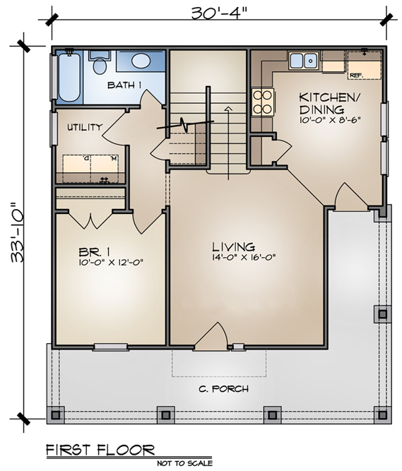 House Plan of the Week Small Cottage Home The House Designers