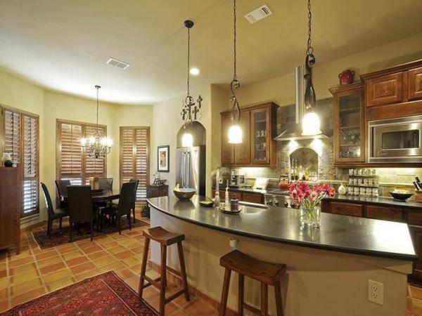 The Bellasera-D House Plan Kitchen