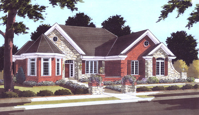 Small House Plans - Inverness House Plan