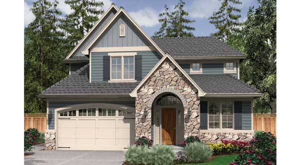 Small House Plans - The Brumley House Plan