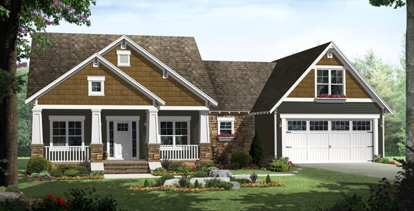Small House Plans - The Lexington Avenue