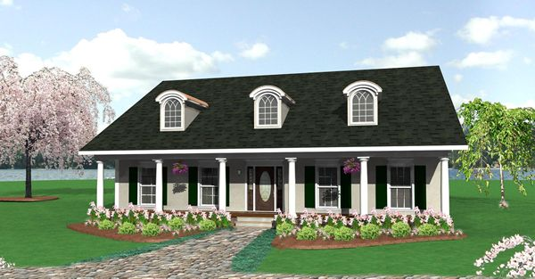 The Pleasant View House Plan