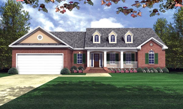The Shadow Lane House Plan