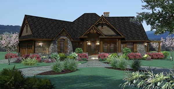 Small House Plans - Vita Encantata