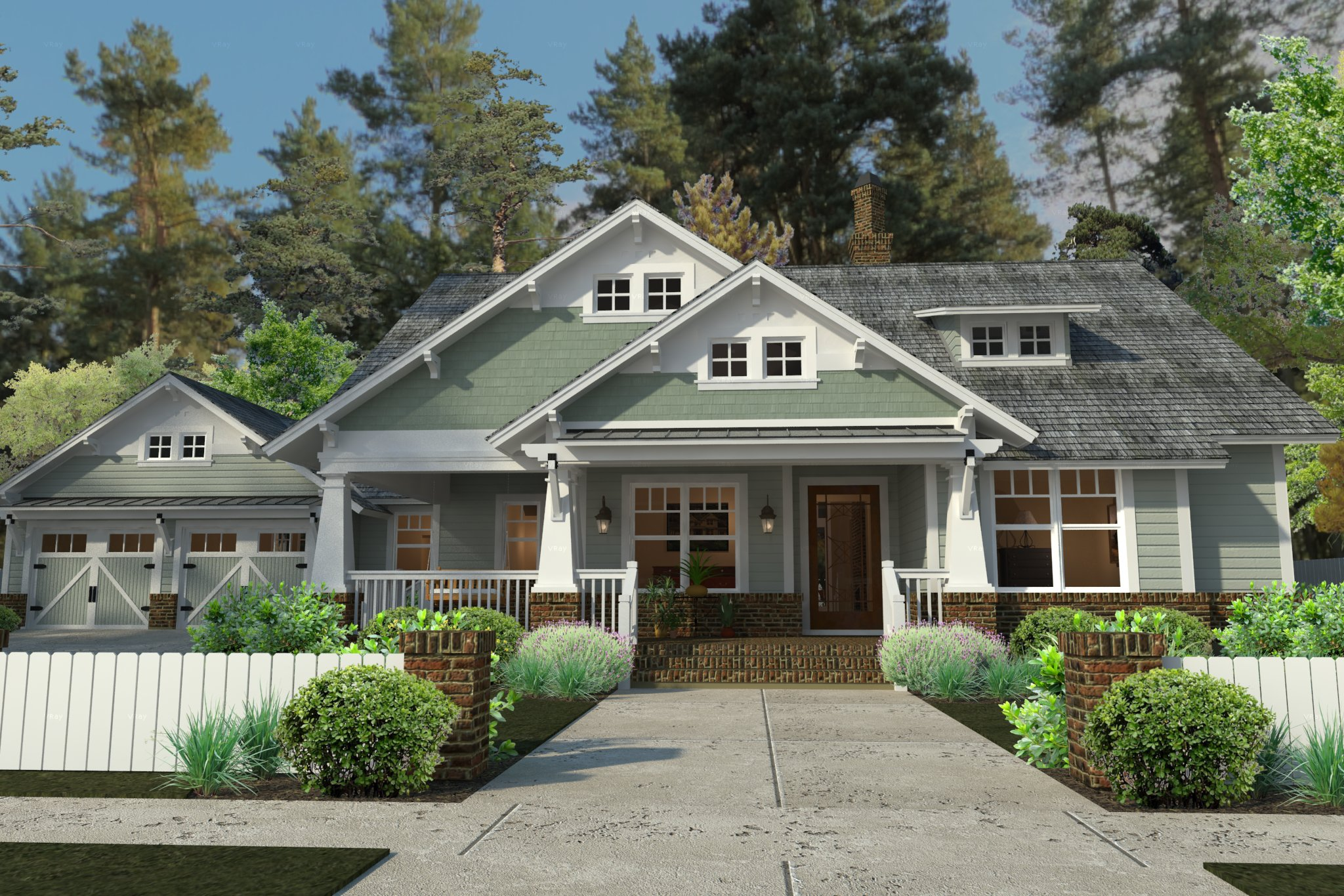5 tips for achieving great curb appeal the house designers for Most popular one story house plans