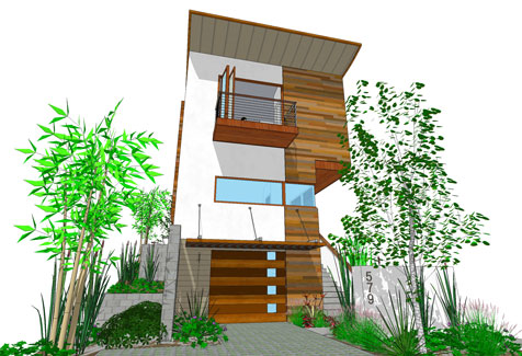 Modern, Affordable 3-story Residential Designs! - The ...