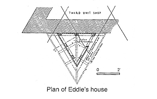 FLW plan of Eddie's House
