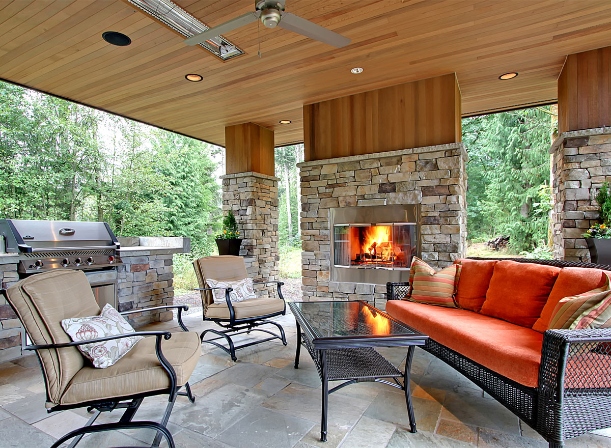 Designing a great outdoor kitchen the house designers - Things to consider when creating outdoor kitchens ...