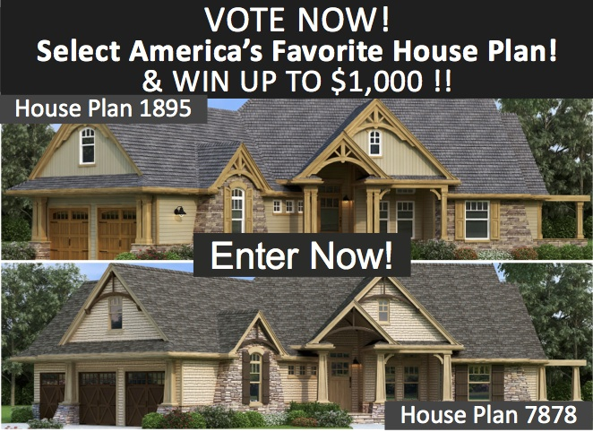 America 39 s best selling house plan contest the house for Top selling house plans