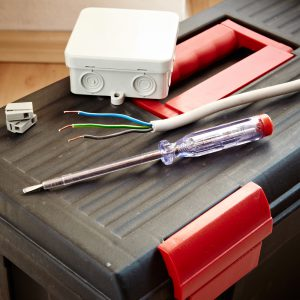 Homeowner's toolbox for making electrical repairs