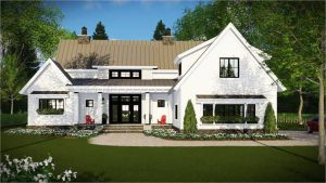 Farmhouse Plan 3030: The Walton - 2 Stories. 4 Bedrooms. 3.1 Bathrooms. 3 Car Garage