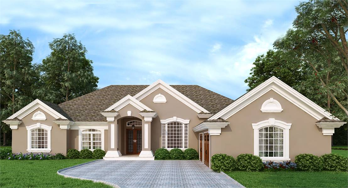 Southgate 4308: A New Mediterranean House Plan
