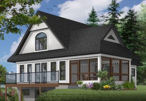 The best of lake homes, The Woodline 2 house plan