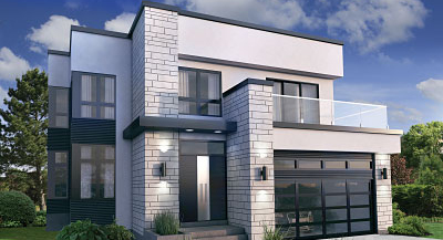 Impressive Contemporary & Modern House Plans